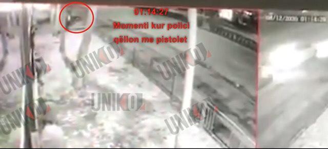 VIDEO/ Momenti kur Klodian Rasha vritet nga efektivi i policisë, çfarë filmoi kamera e sigurisë