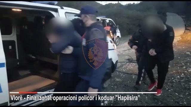 """(VIDEO) Operacioni Policor """"Hapësira"""" 41 te arrestuar në operacionin antidrogë, në pranga edhe nga Fieri"""
