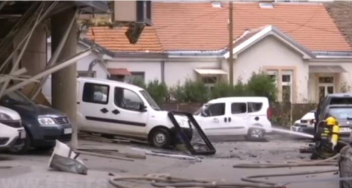 Shpërthim i FUQISHËM në televizionin e Beogradit, humb jetën një person dhe plagosen 2 të tjerë