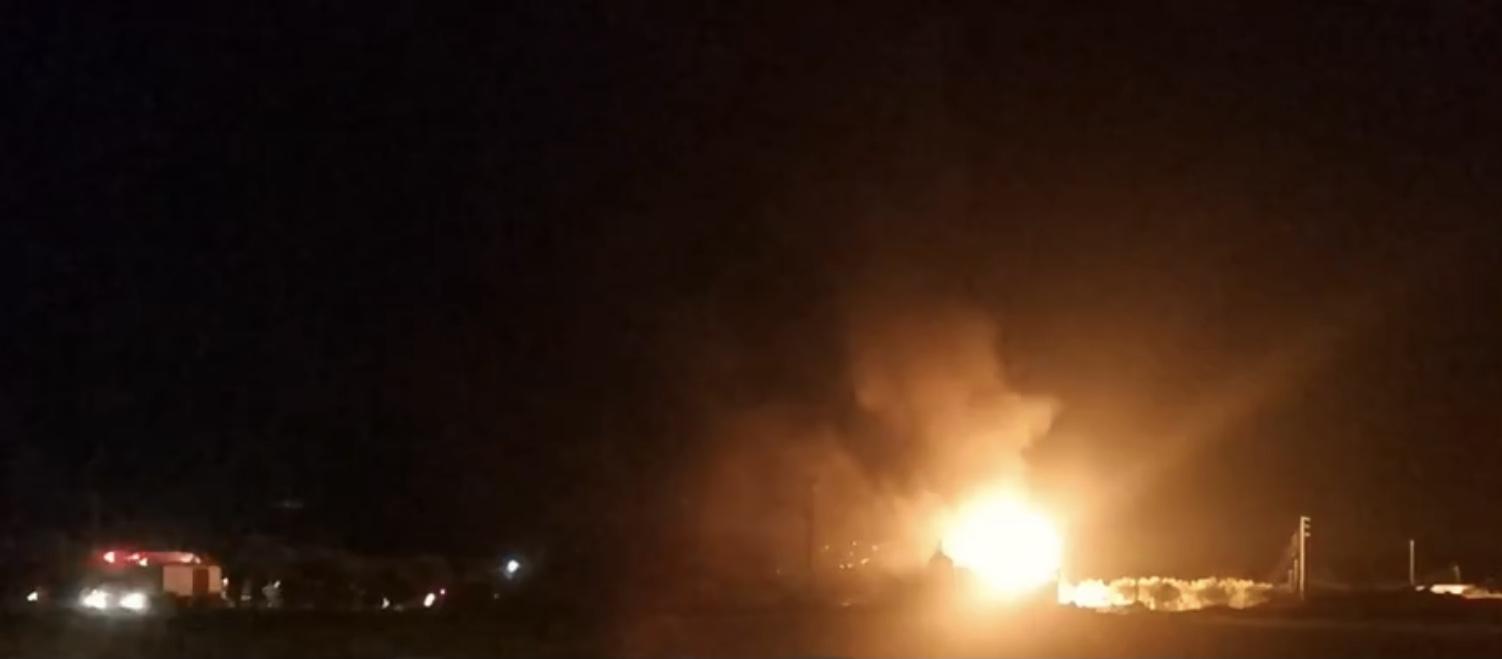 Një shpërthim i fuqishëm ka ndodhur mbrëmjen e sotme në Lamia të Greqisë. Raportohet për të plagosur.