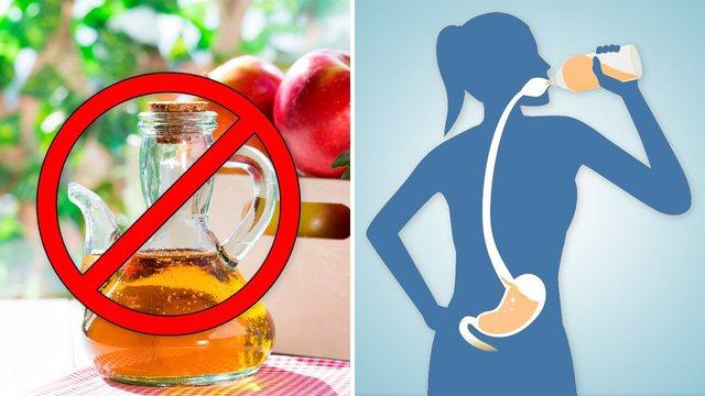As mos GUXONI ta fusni në gojë, 5 rastet kur nuk duhet të konsumoni uthull molle