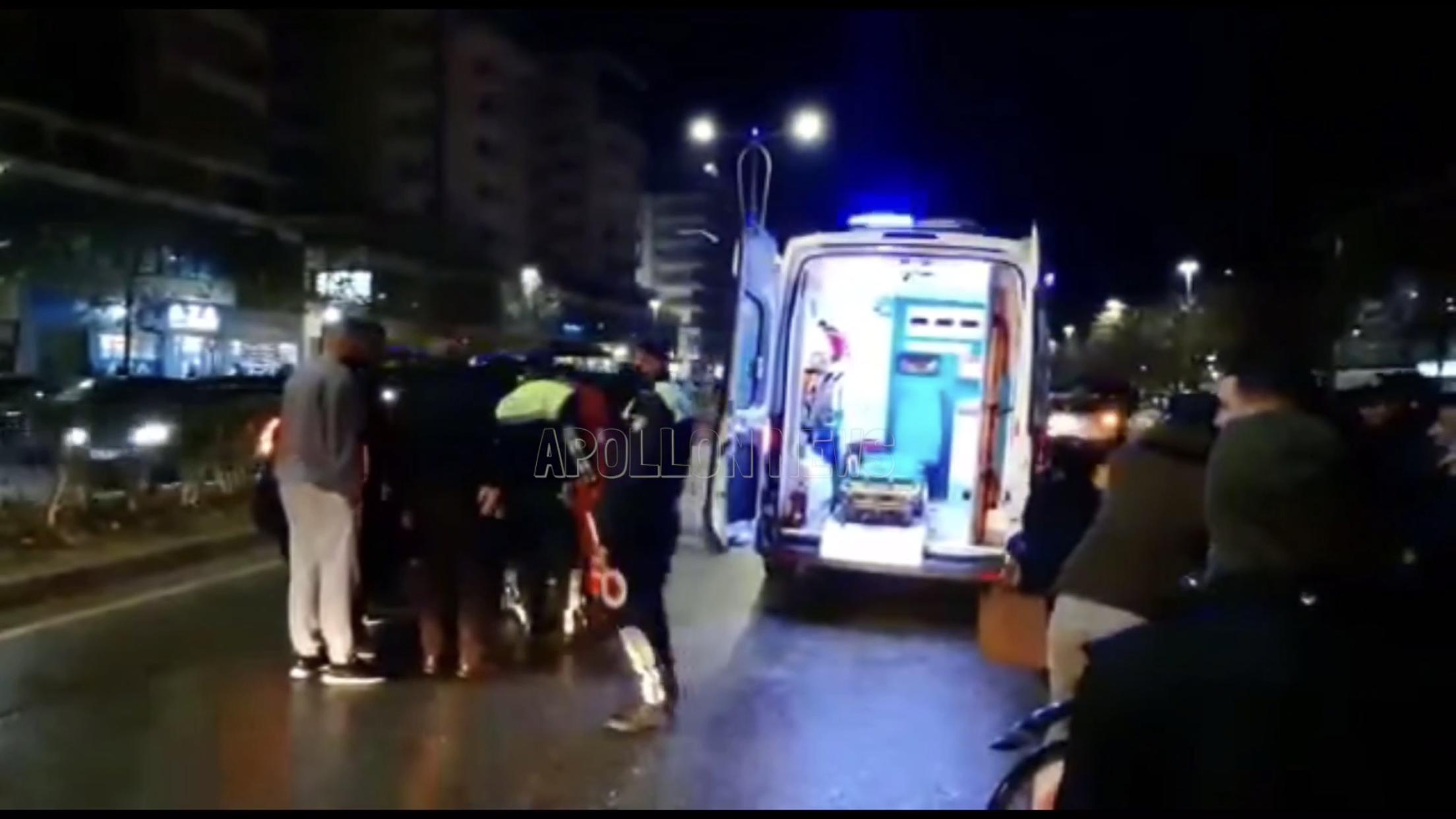 Aksident i rëndë në Tiranë, makina përplas kalimtarin te 'Sheshi Shqiponja'
