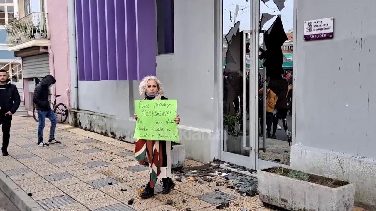 U procedua për protestën në Shkodër, reagon Voltana Ademi: Po sulmohem politikisht