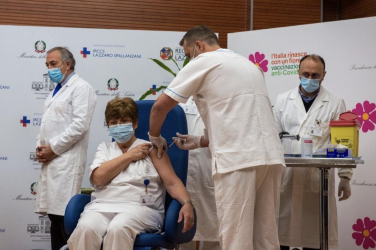 Italia arrin të bëjë 1 milionë injektime, vendi i parë në BE që shënon rekord vaksinimi antiCovid-19