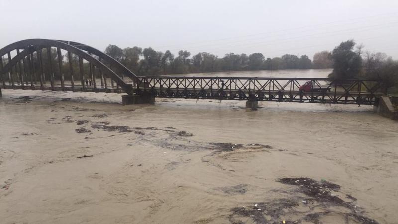 Reshjet e dendura/ Lumi Vjosa del nga shtrati, përmbytet pazari i kafshëve në Novoselë