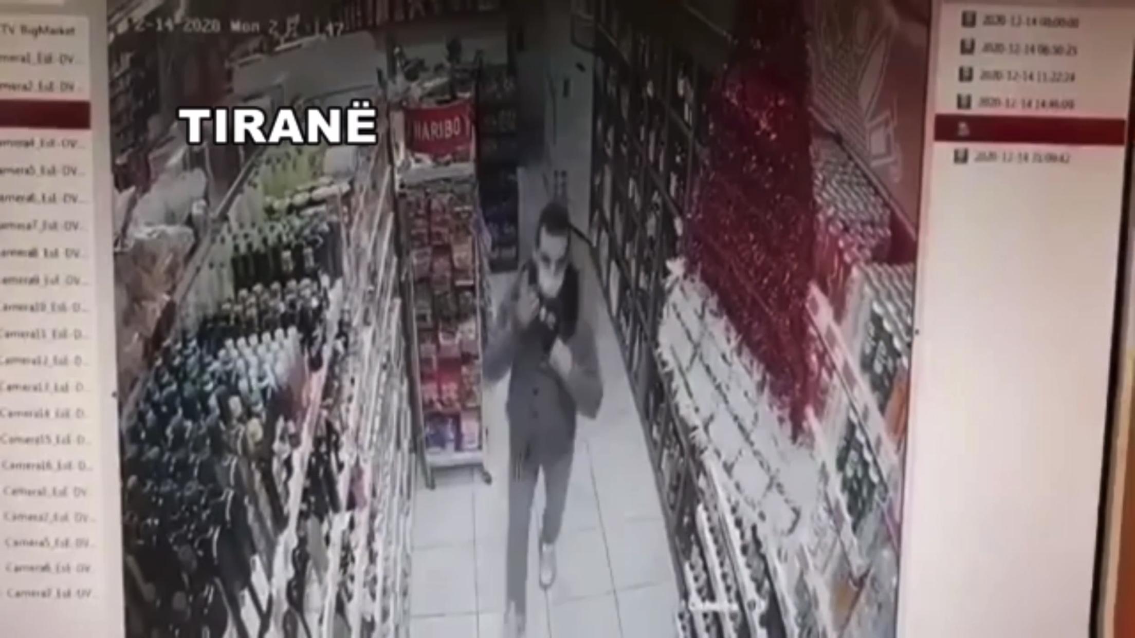 Çifti i hajdutëve kthehet në tmerrin e marketeve në Tiranë, shihni si vjedhin të pashqetësuar (VIDEO)