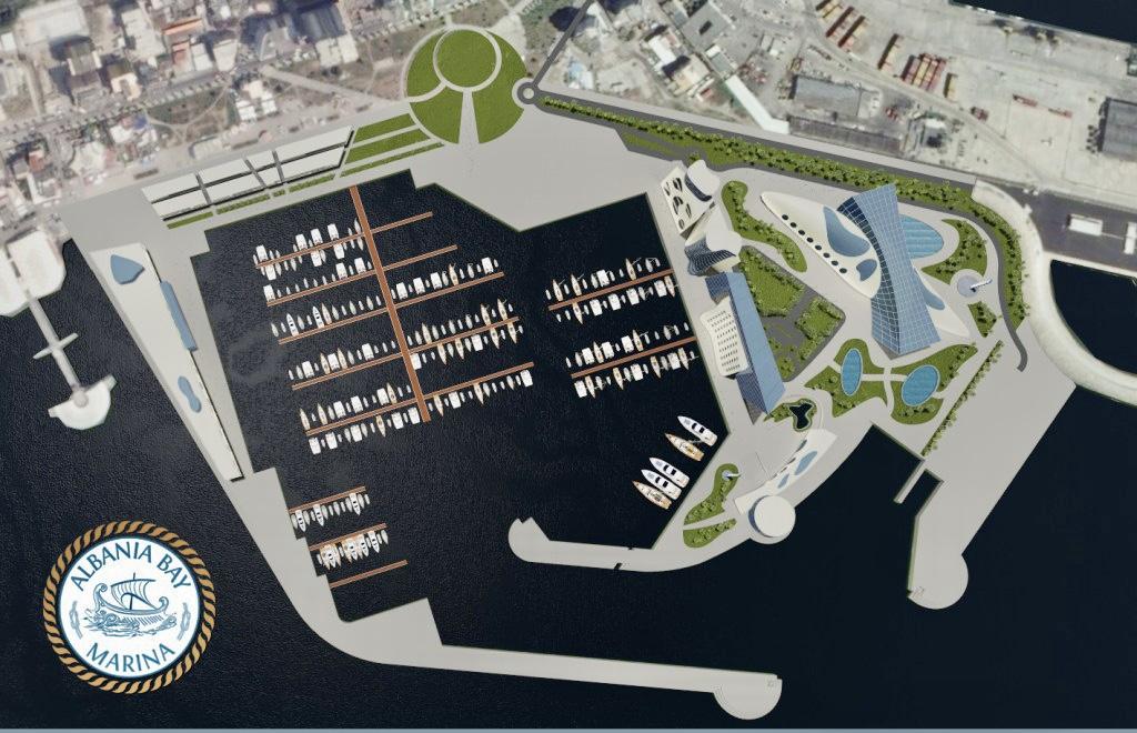 Dritëhijet e projektit të ri në Portin e Durrësit dhe kompania EMAAR e Emirateve Arabe.
