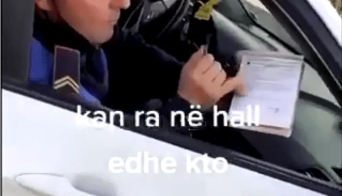 """""""Shkruaj e kisha në xhep edhe ik se s´ka paguar kush gjobë për maskën"""" (Video)"""
