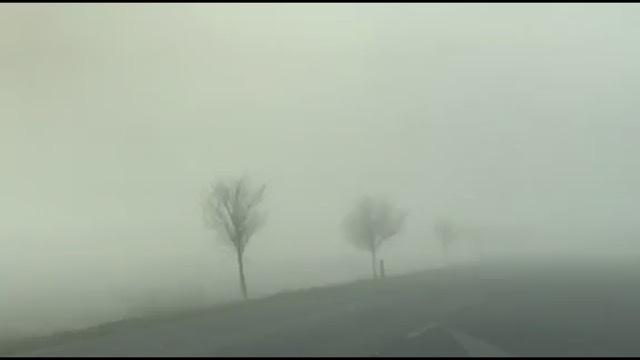 """Mjegull e dendur në jug, """"perdja e zymtë"""" shkakton probleme në qarkullim në aksin Levan-Tepelenë, fushëpamja e kufizuar"""