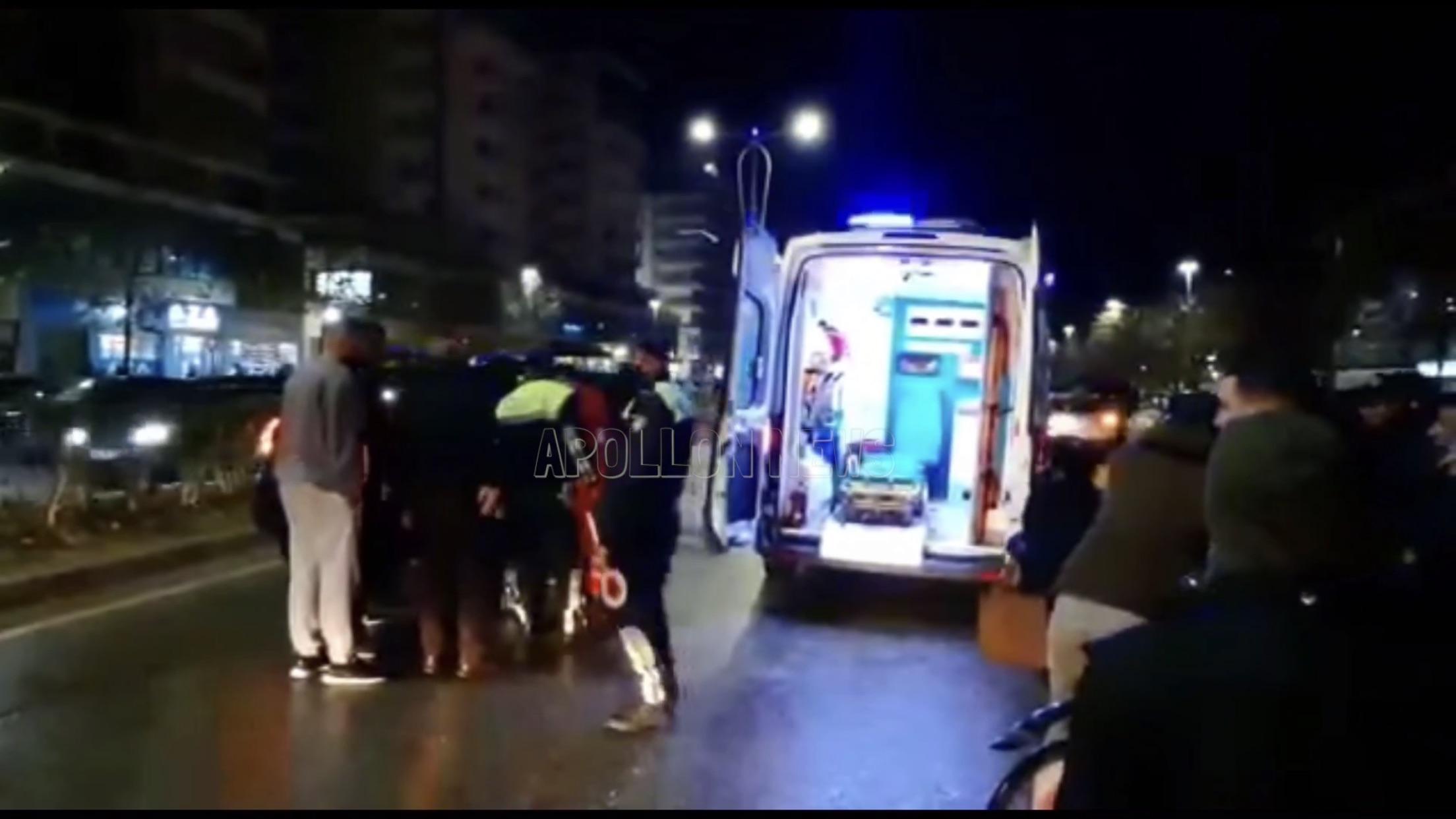 KRUJE/ Automjeti përplas këmbësorin, dërgohet për në spital një 48-vjeçar