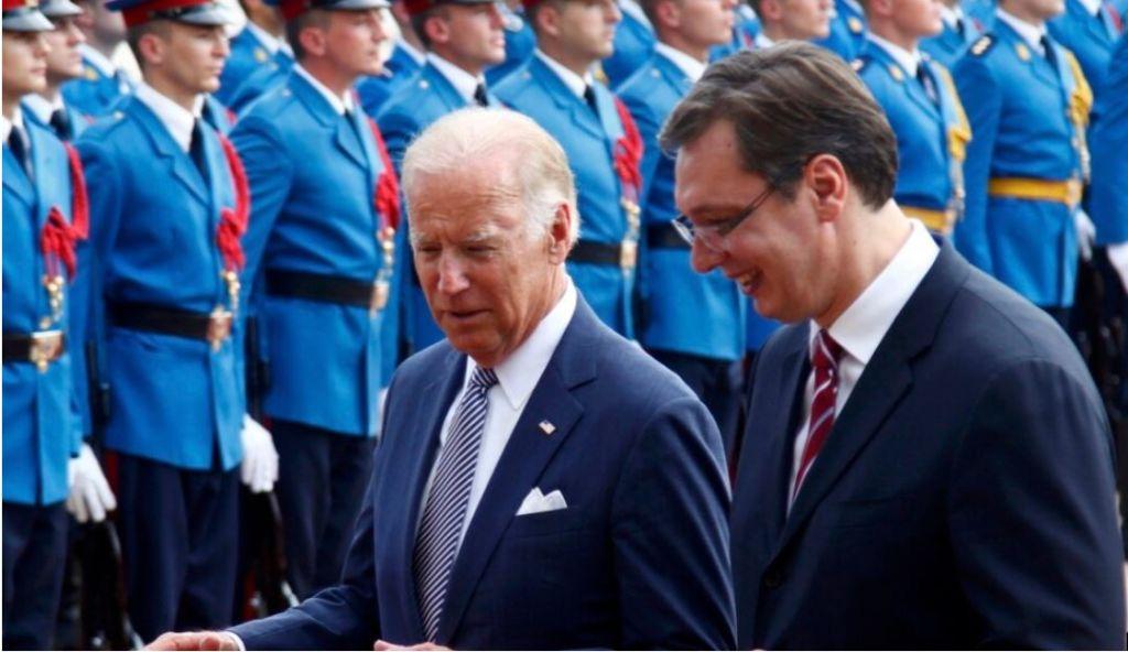 Presidenti i SHBA, Joe Biden letër Vuçiç, i kërkon të njohë Kosovën