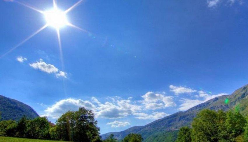 Kohë e kthjellët dhe rritje temperaturash, njihuni me parashikimin e motit për ditën e sotme.