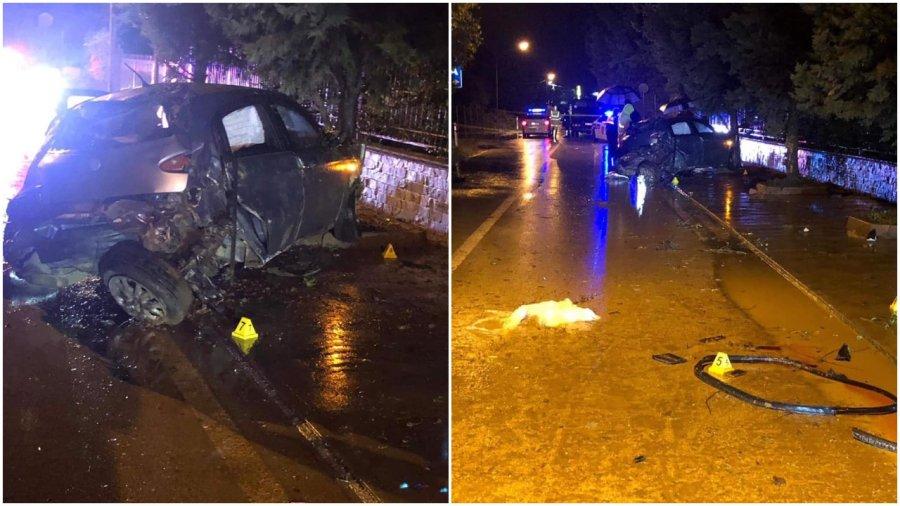 Lajm i fundit/ Tragjedi në Tiranë, mjeti del nga rruga në mesnatë, vdesin 3 persona