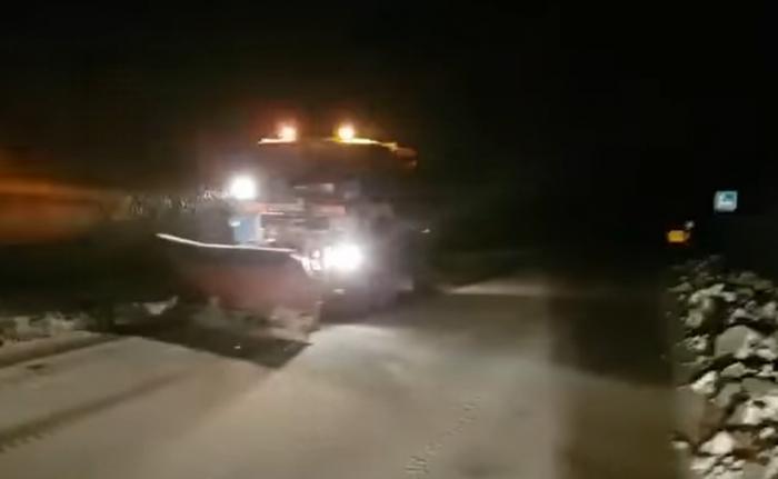 Problemet në qarkullim për shkak të reshjeve të dëborës, ARRSH tregon akset ku duhet të keni kujdes