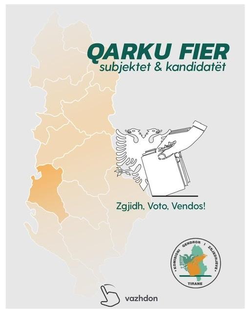 Njihuni me kandidatët e Qarkut të Fierit për  zgjedhjet  e 25 Prillit