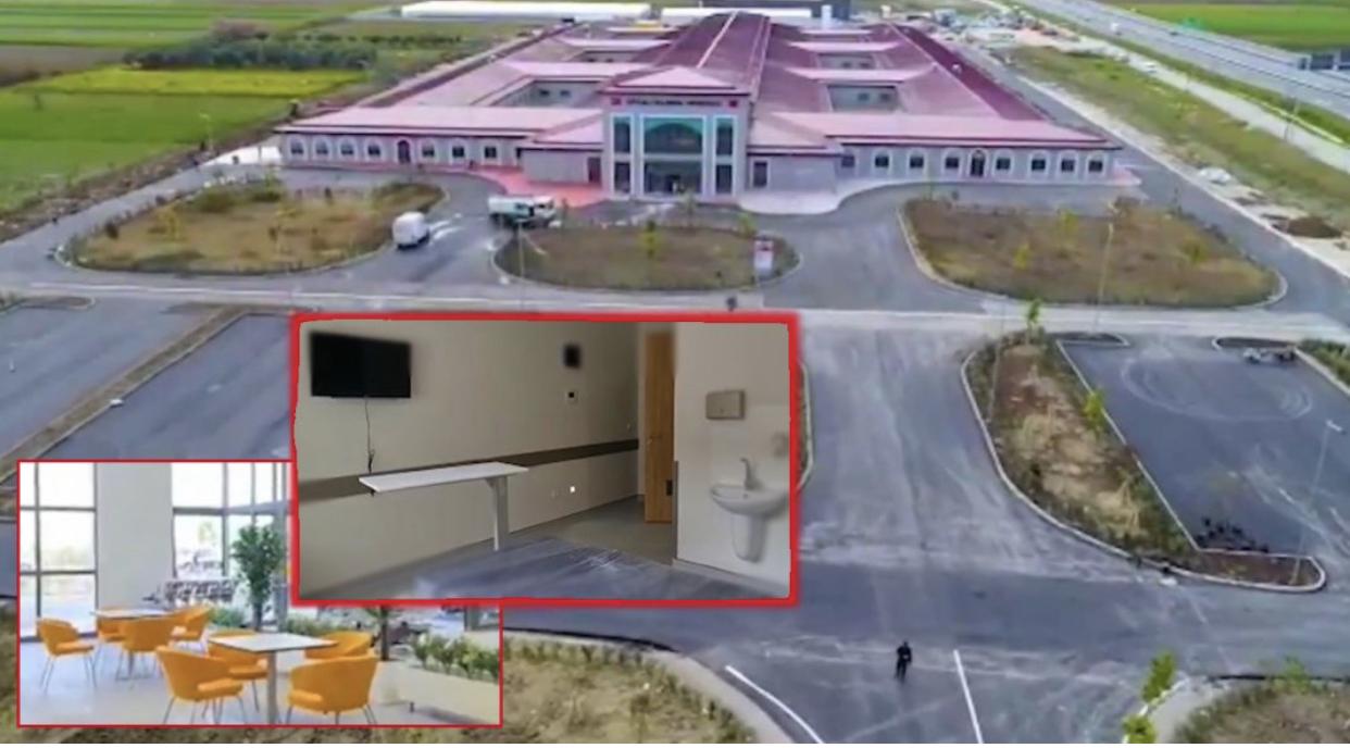 'E ke gati para zgjedhjeve', Rama nxjerr videon brenda Spitalit modern të Fierit: Dhoma me televizor dhe tualet brenda, aparaturat më të fundit…