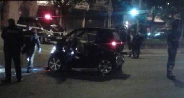 Aksident në mes të 'Myslym Shyrit', shoferja merr para 4 persona dhe largohet nga vendngjarja