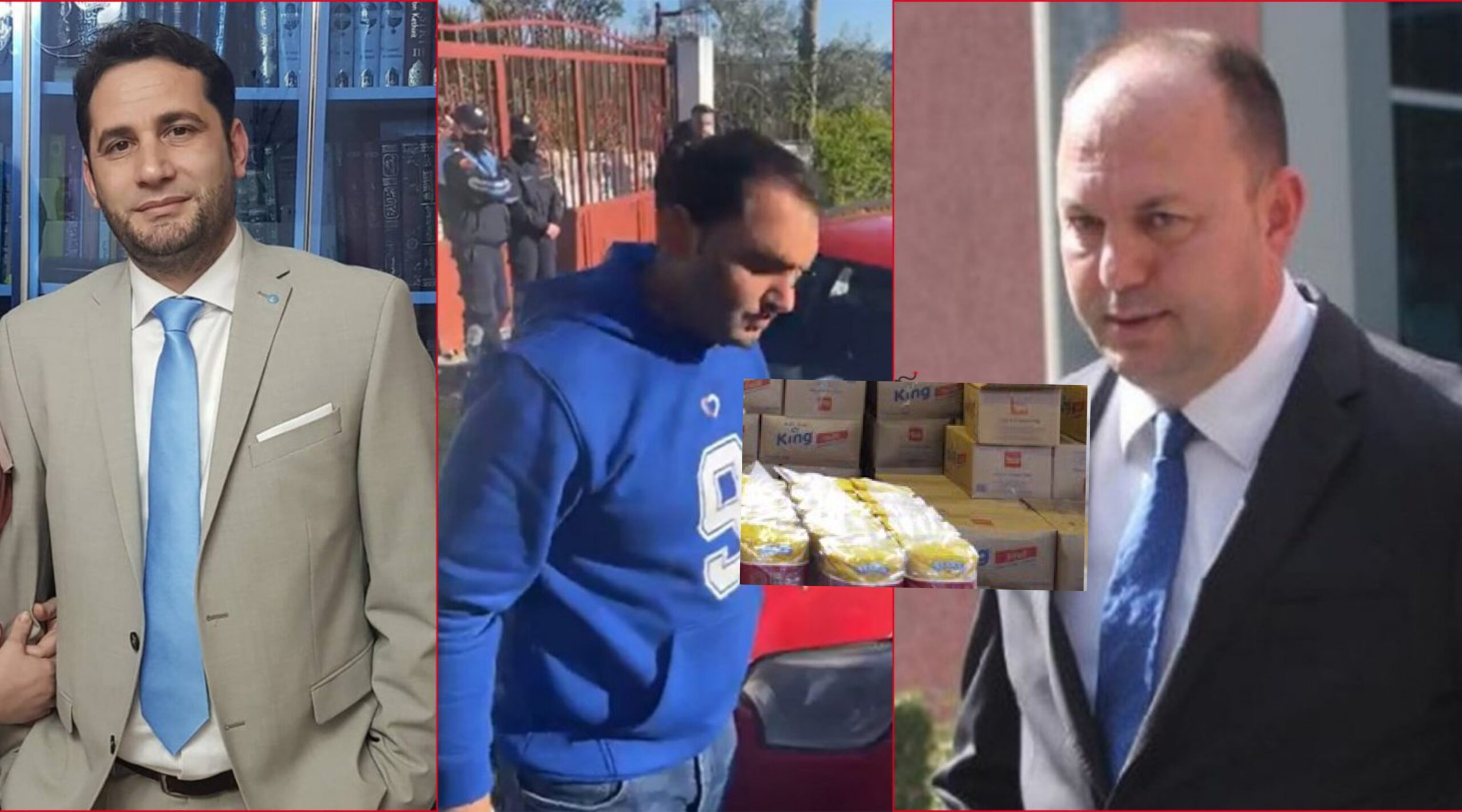 SKANDALI i Partisë Demokratike/ Ndaluan makinën me ushqime në Vaqarr dhe thanë se ishte për VOTA, ushqimet ishin të Elvis Naçit, për hapjen e iftarit
