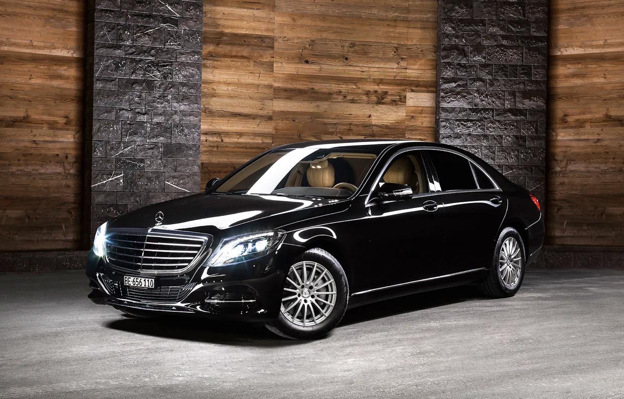 Mercedes-Benz prezanton modelin luksoz të S-Class
