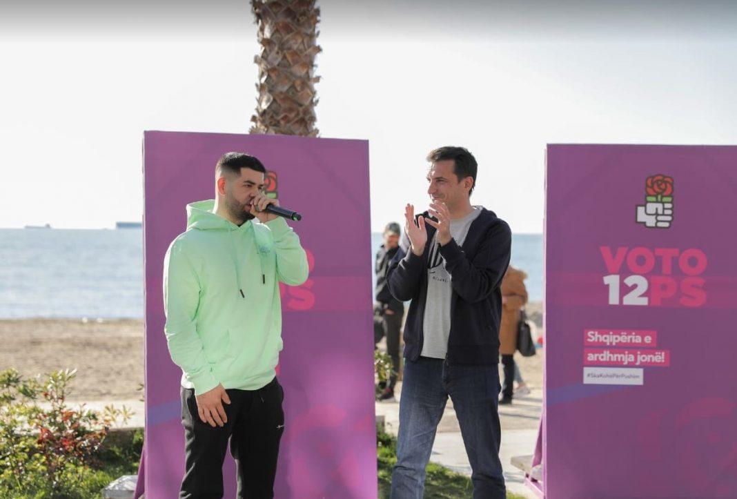 Reperi Noizy përkrah publikisht fushatën e drejtuar nga Veliaj në Tiranë: Është koha të ecim përpara