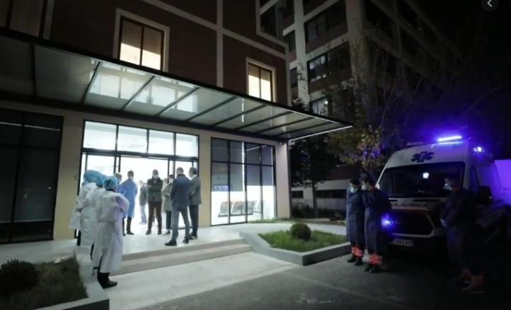 Shërbeu si strukturë mbështetëse për Infektiv-in, boshatiset spitali COVID-4 në Tiranë