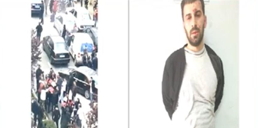 """E rëndë te """"Rruga e Kavajës"""", 34-vjeçari nga Burreli futet në xhami dhe qëllon 5 persona me thikë buke (EMRI-FOTO)"""