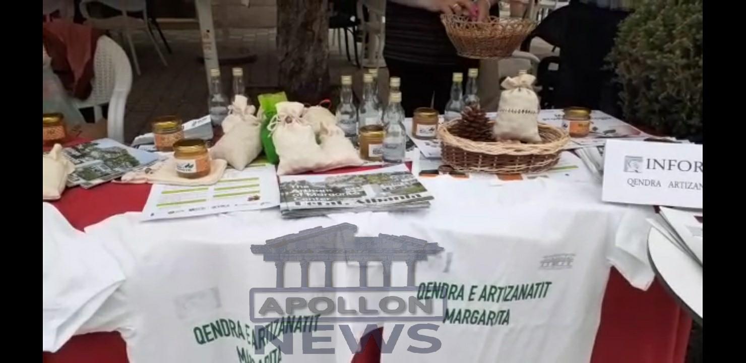 """Qëndra e artizanatit """" Margarita"""", në qytetin e Beratit ka promovuar produktet autoktone te zonës"""