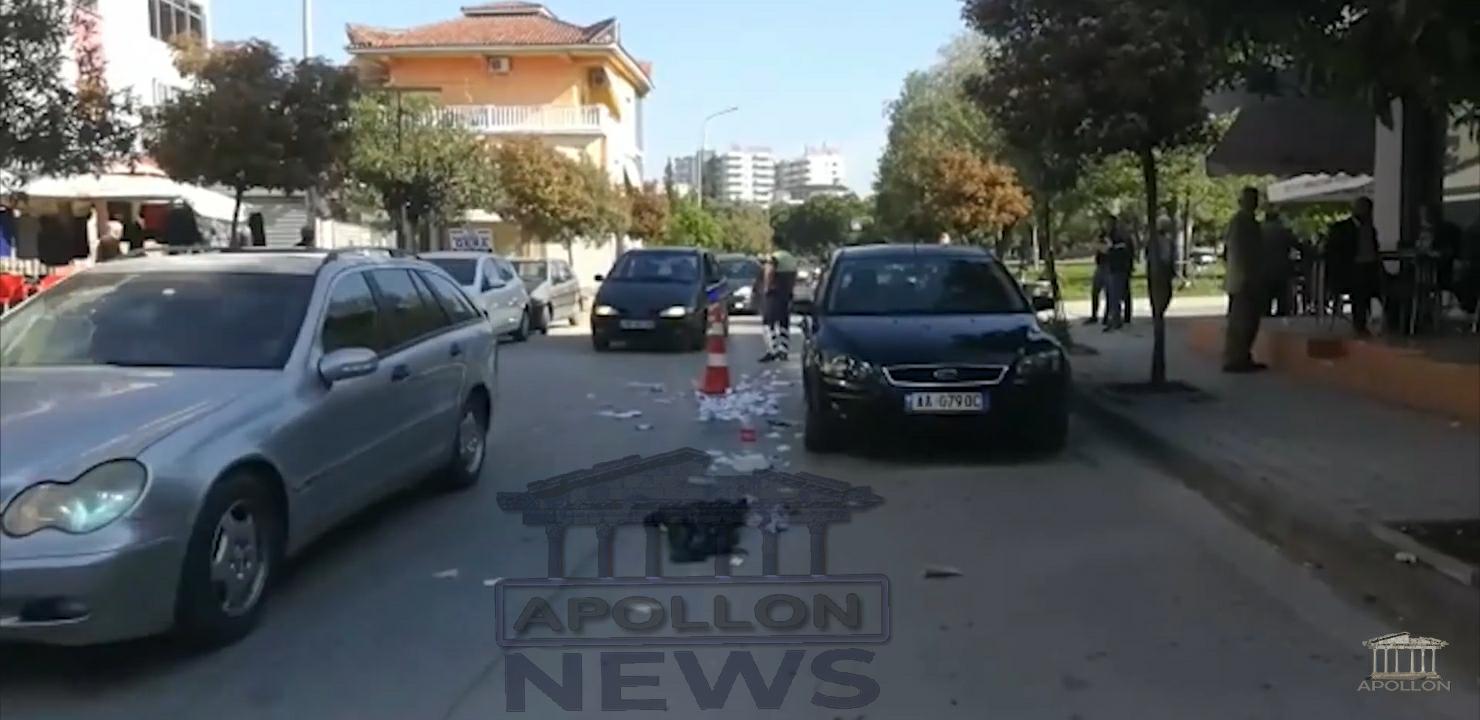 Po kalonte rrugën për të hedhur mbeturinat, përplaset nga një makinë 58 vjeçarj