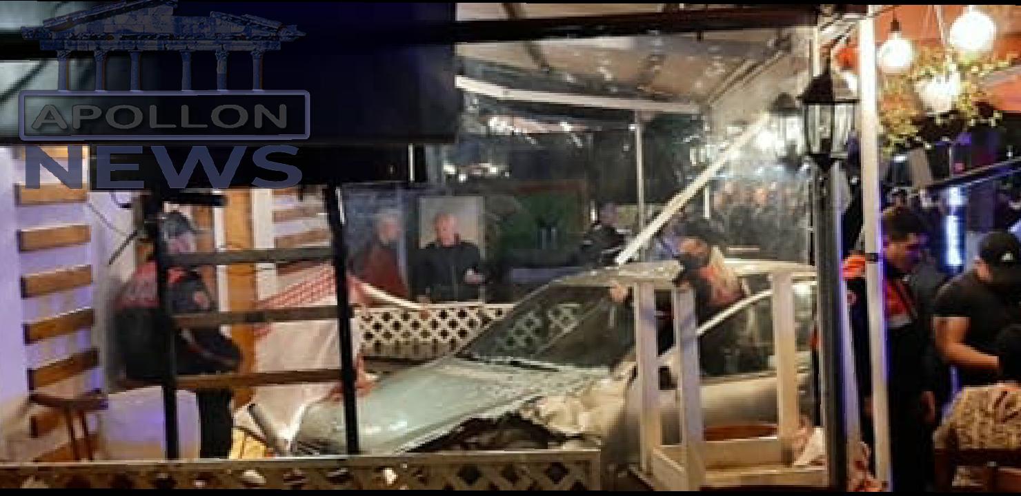 """Aksidenti i rëndë te """"Vasil Shanto"""", gruaja mori përpara me makinë tre persona dhe përfundoi në lokal, arrestohet 49-vjeçarja"""