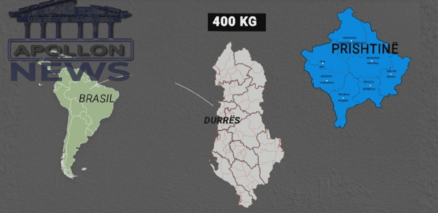 Nga Brazili në Kosovë, DEA sinjalizoi për ngarkesën e kokainës