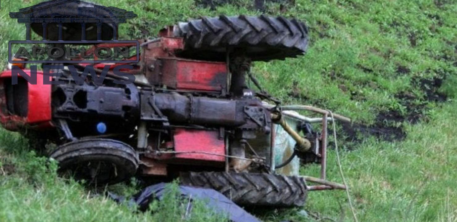 E RËNDË/ Përmbyset traktori në Gramsh, humb jetën 61 vjeçari
