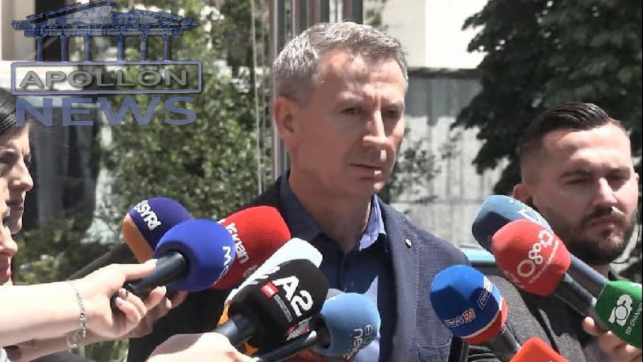 Fatbardh Kadilli dorëzon kërkesën në selinë e PD: Kandidoj për kryetar të Partisë! Lulzim Basha nuk del nga zyra