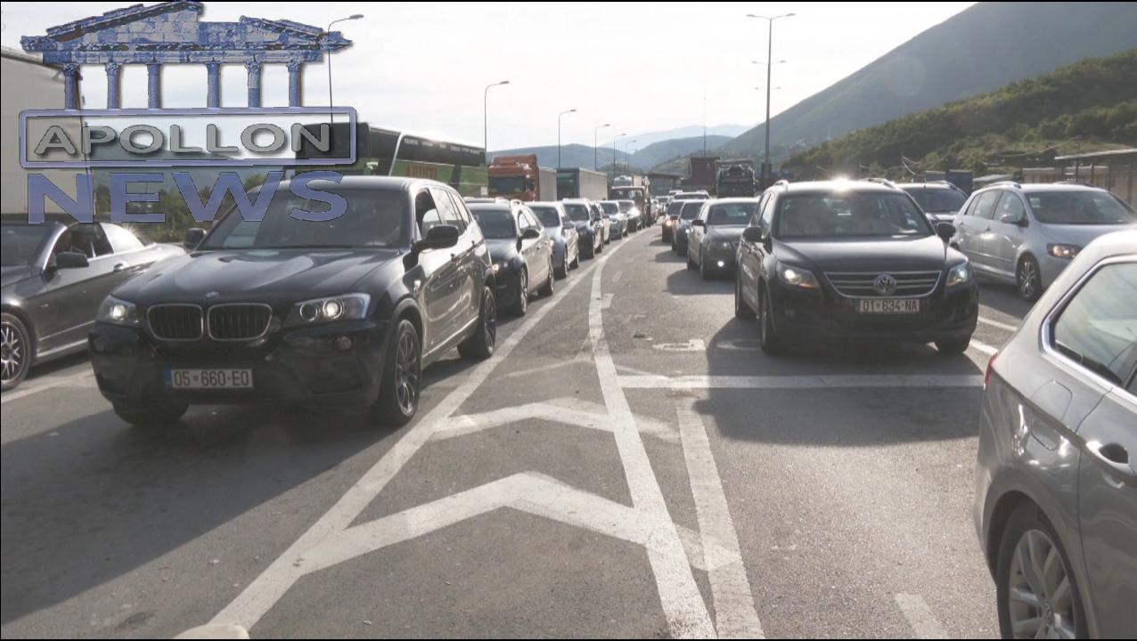 Fluks në Morinë, mijëra kosovarë drejt Shqipërisë në fundjavë
