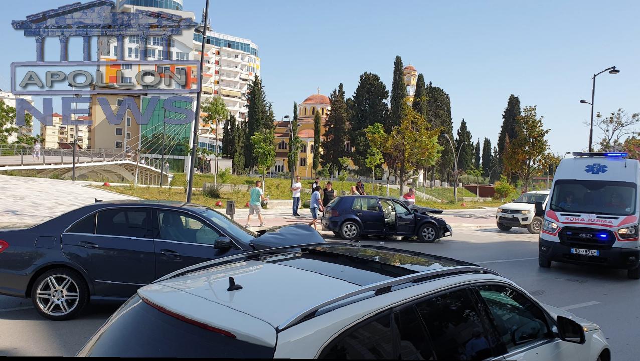 Aksident në qëndër të qytetit të Fierit