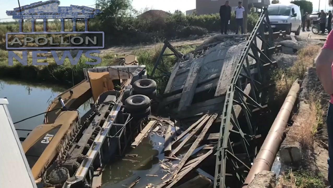 Shëmbet ura në Darëzezë nga një mjet i tonazhit të rëndë, plagoset shoferi.