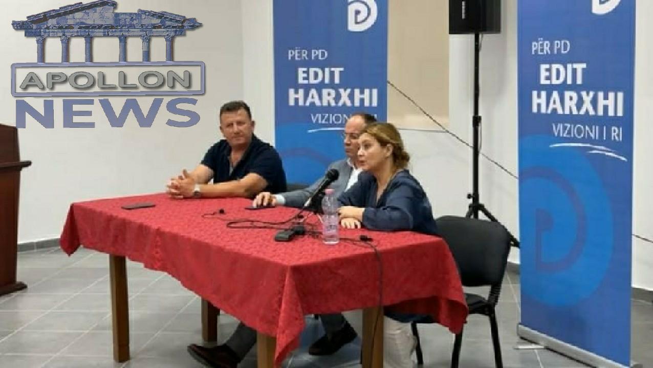 Në krah të Bujar Nishanit, Edit Harxhi e pranon: Unë i njoh zgjedhjet e 25 prillit. PS fitoi, shifrat flasin vetë