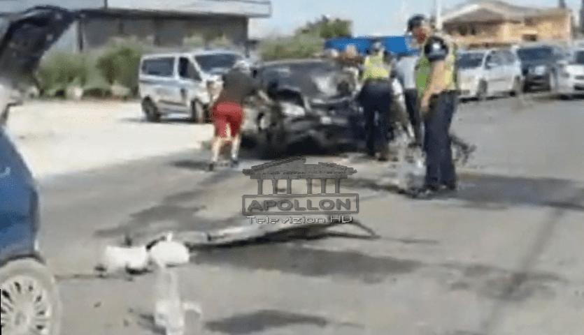"""Makinat përplasen """"kokë më kokë"""" në Fushë-Krujë, PESË persona të plagosur mes tyre edhe një foshnjë 10-muajshe"""