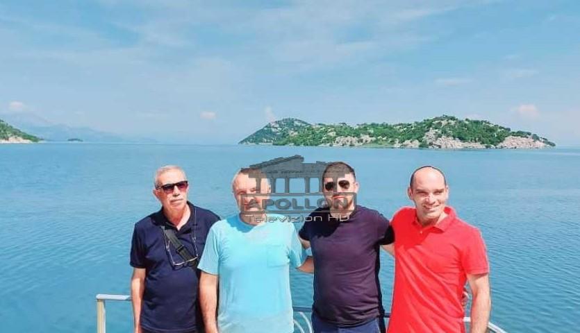 """Me Faikun, Antonin dhe Aliun, Presidenti Meta publikon """"kartolinën"""" buzë liqenit të Shkodrës"""