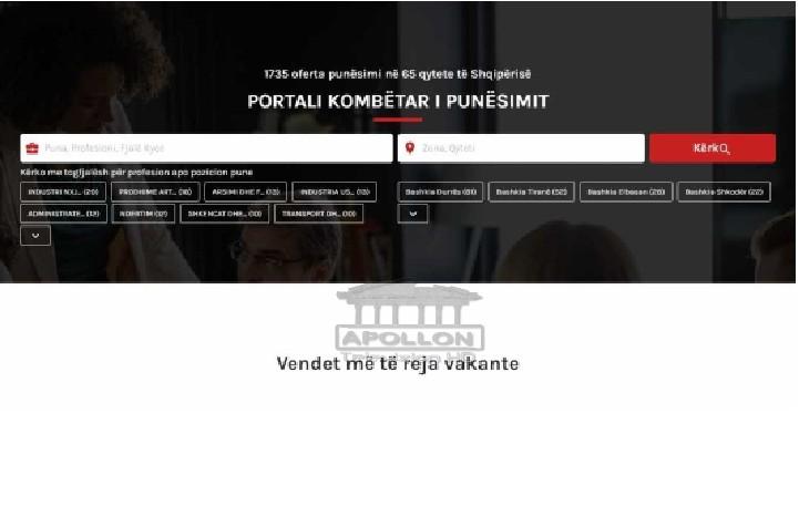 Edi Rama prezanton Portalin Kombëtar të Punësimit: Aplikoni menjëherë këtu, nëse po kërkoni punë! Janë 1735 vende të lira në 65 qytete të Shqipërisë
