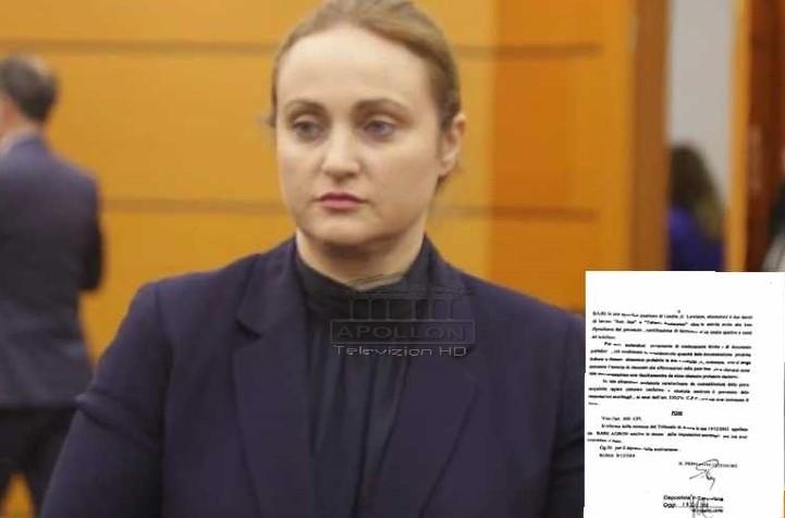 ONM kërkon shkarkimin e Elisabeta Imerajt, publikohet vendimi i Gjykatës së Romës për ish-bashkëshortin e Kryeprokurores së Tiranës