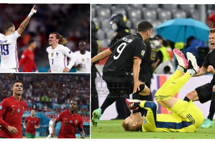 """Mbrëmje e çmendur: Kualifikohen ekipet """"big"""", Goretzka shpëton Gjermaninë"""