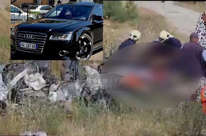 """Aksidenti ku u shua familja Gushi, DEL EKSPERTIZA, """"Audi"""" ishte me 160 km në orë"""