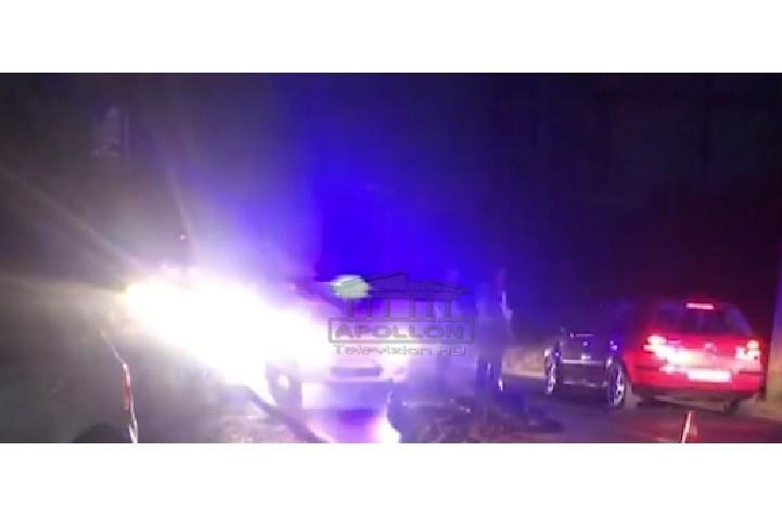 Aksident i rëndë në Shëngjin, makina hedh përpjetë motoristin