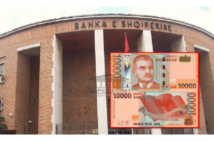 Sot do të hidhet në treg kartëmonedha e re, prerja 10 mijë lekëshe do jetë 'në duart' e shqiptarëve