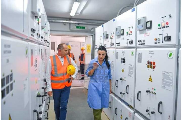 Investim në N/Stacionin elektrik Palasë, Balluku: Kemi marrë masat për të garantuar furnizimin pa ndërprerje me energji gjatë sezonit turistik