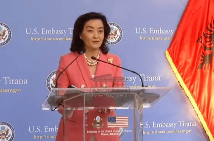 Dita e Pavarësisë së SHBA, Yuri Kim: Që prej 30 vitesh nuk ia kemi lëshuar dorën Shqipërisë, demokracia duhet të ripërtërihet