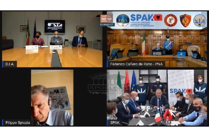 Shefi i SPAK: Kemi ekzekutuar 28 urdhër-arreste në Shqipëri, në pranga prokurorë dhe zyrtarë policie; Prokurori Antimafias: Zbuluam tradhtarët