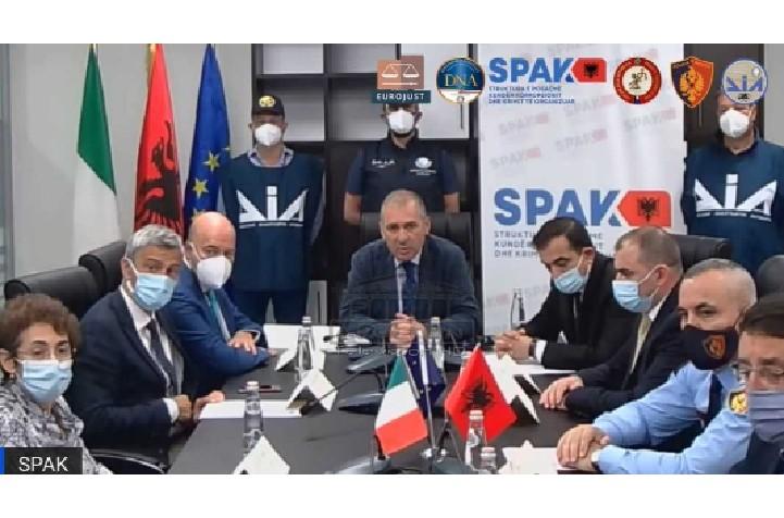 Drogë me vlerë 55 milion euro, SPAK zbardh operacionin me Antimafian: 38 të arrestuar, në pranga ish-truprojat e Tahirit, zyrtarë të lartë policie dhe 1 prokuror