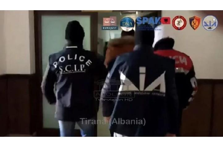 Furnizonin me drogë Italinë, Malin e Zi dhe Spanjën, EMRAT: Këta janë 28 shqiptarët e arrestuar sot nga SPAK dhe oficerët e Antimafias italiane