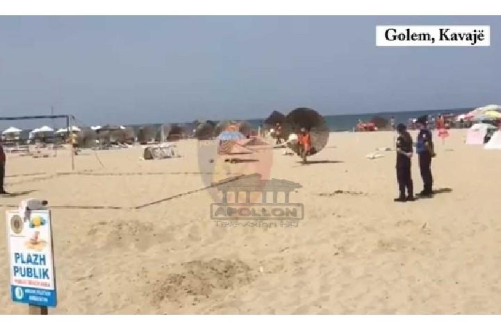 Kishin zënë plazhin me çadra dhe shezlongë pa leje, procedohen 3 pronarët në Golem